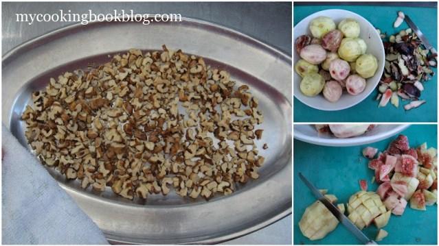 Конфитюр от смокини с орехи