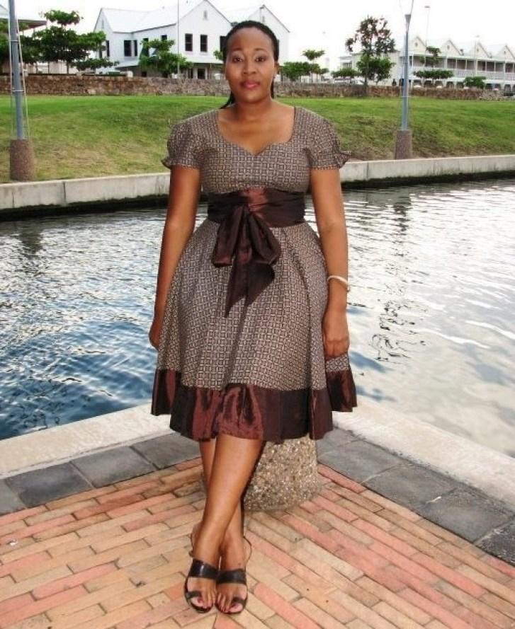 Shweshwe Traditional Dresses Designs 2016 2017 | Fashionte