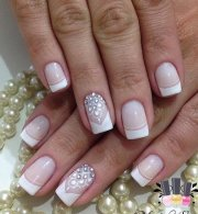rhinestone nail art design ideas