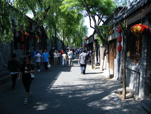 Hutong de Pekín