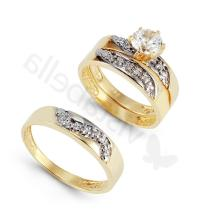 Babanina's blog: antique wedding ring trio sets