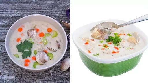 Clams Chowder Soup - high in vitamin B12