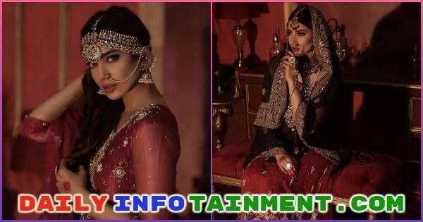 Rabia Butt Lavish Pictures from Zeeniya Couture Bridal range