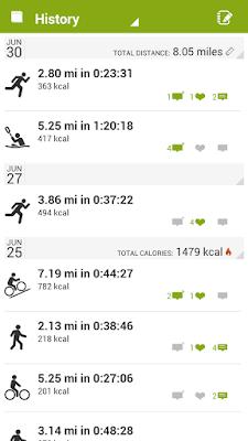 *推薦的運動健身紀錄好助理 :Endomondo Sports Tracker (Android App) 2