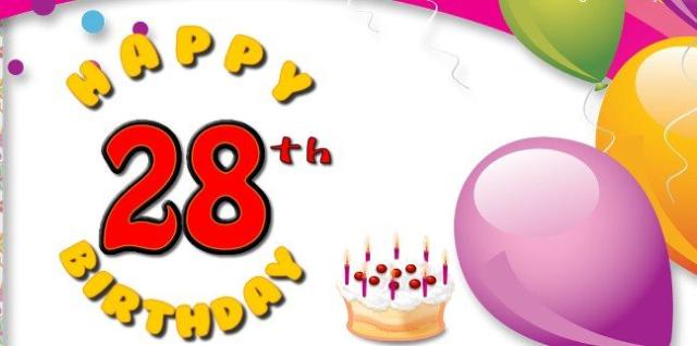 28th Birthday Wishes