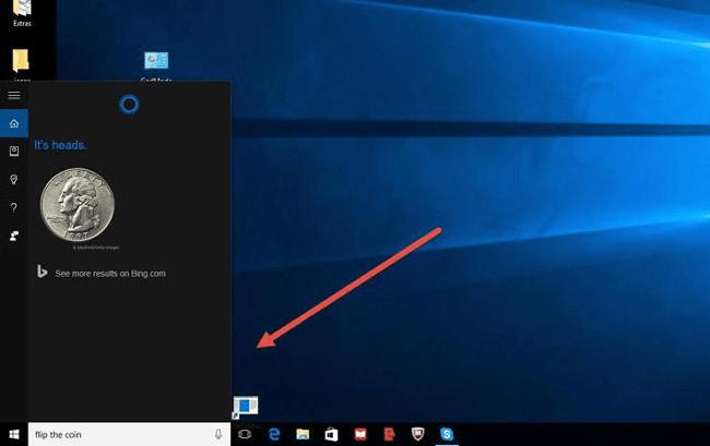Trò chơi ẩn trong Cortana