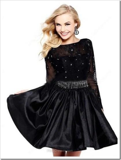 a-line-scoop-black-prom-dress