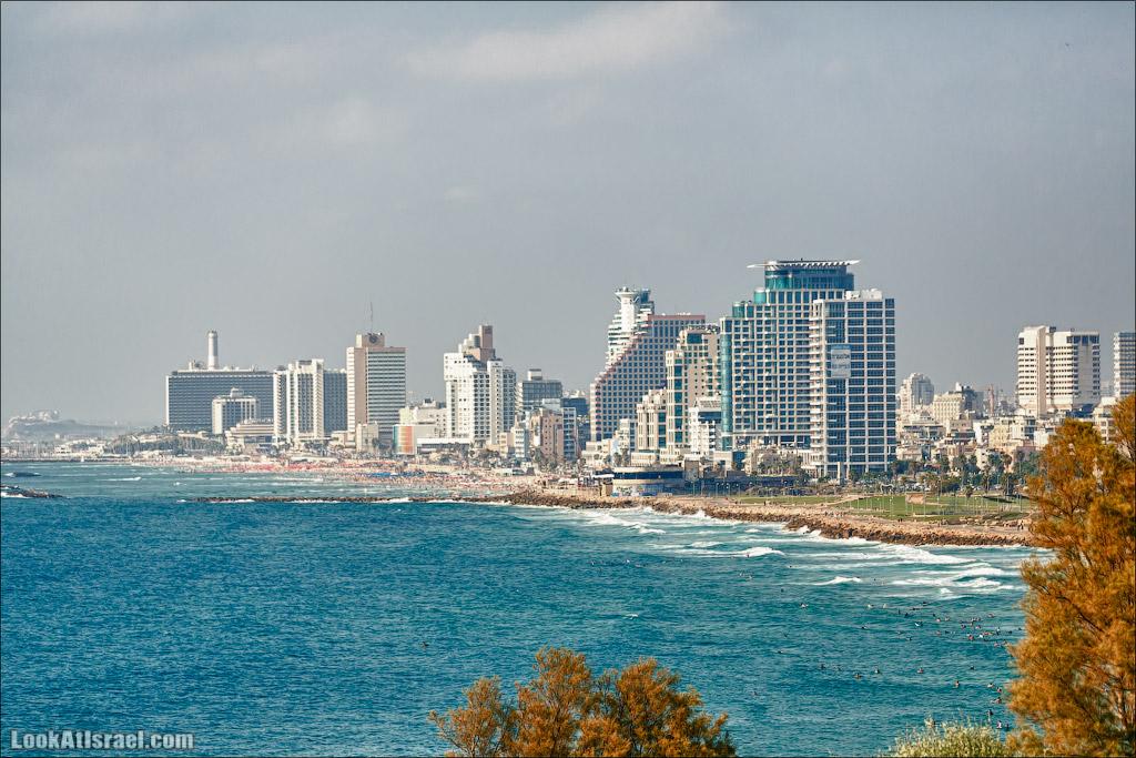 Одно фото Тель Авива во время войны