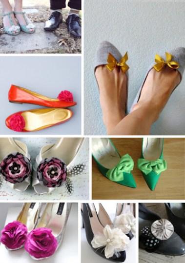 variációk cipőklipszre