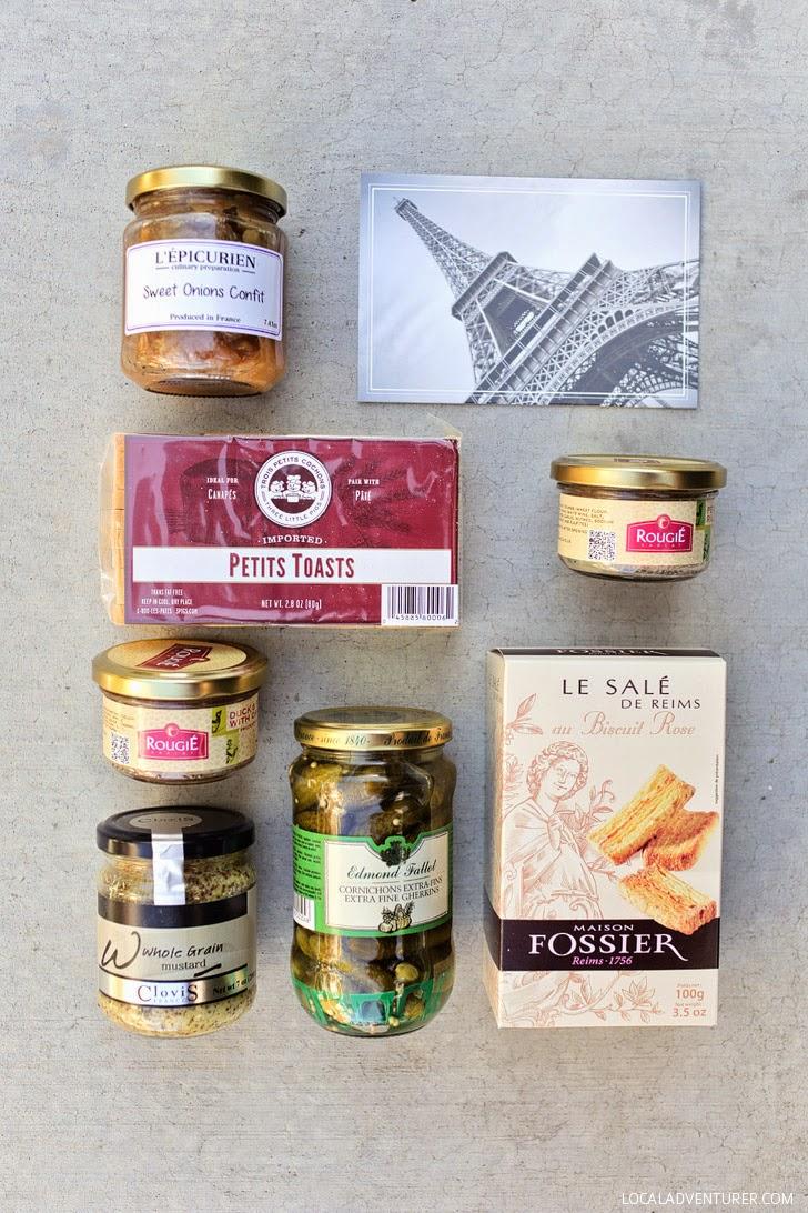 Bon Appetit Paris Apertif - A French Subscription Box