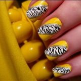 gorgeous yellow nail designs for 2015