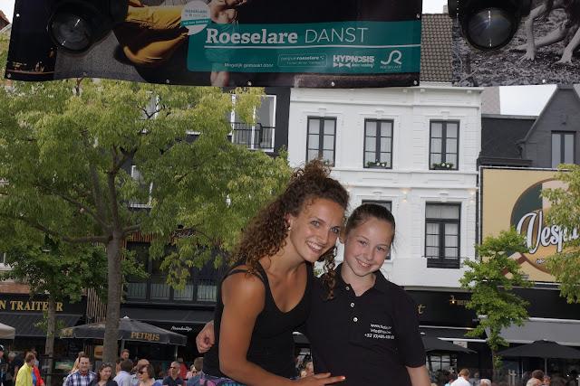 Met Morgane op de foto