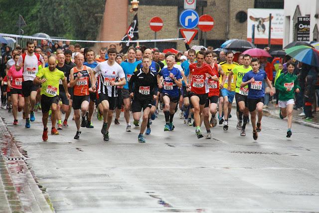 start 5 km jogging krottegemse corrida