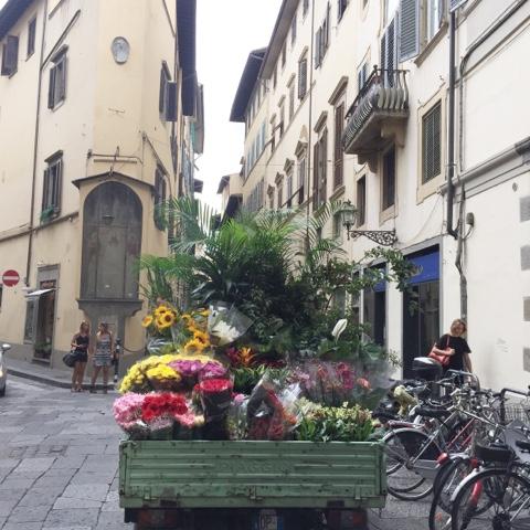 Florenz ...eine Stadt trägt blau