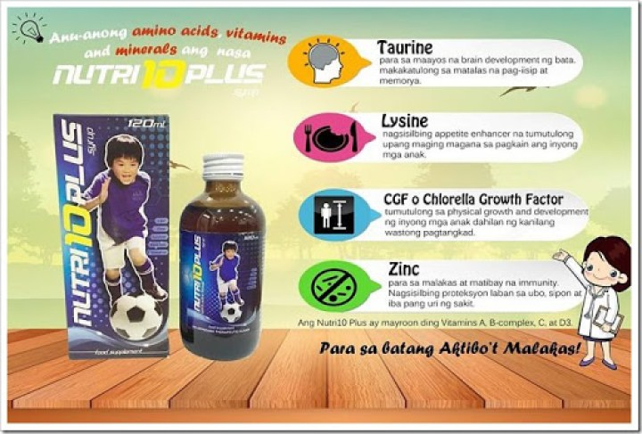 nutri10 plus syrup review