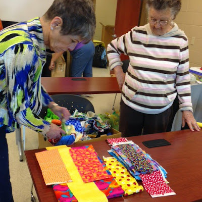 Annhara and Deltha sorting fabric
