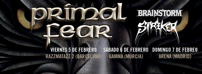 Gira Española Primal Fear