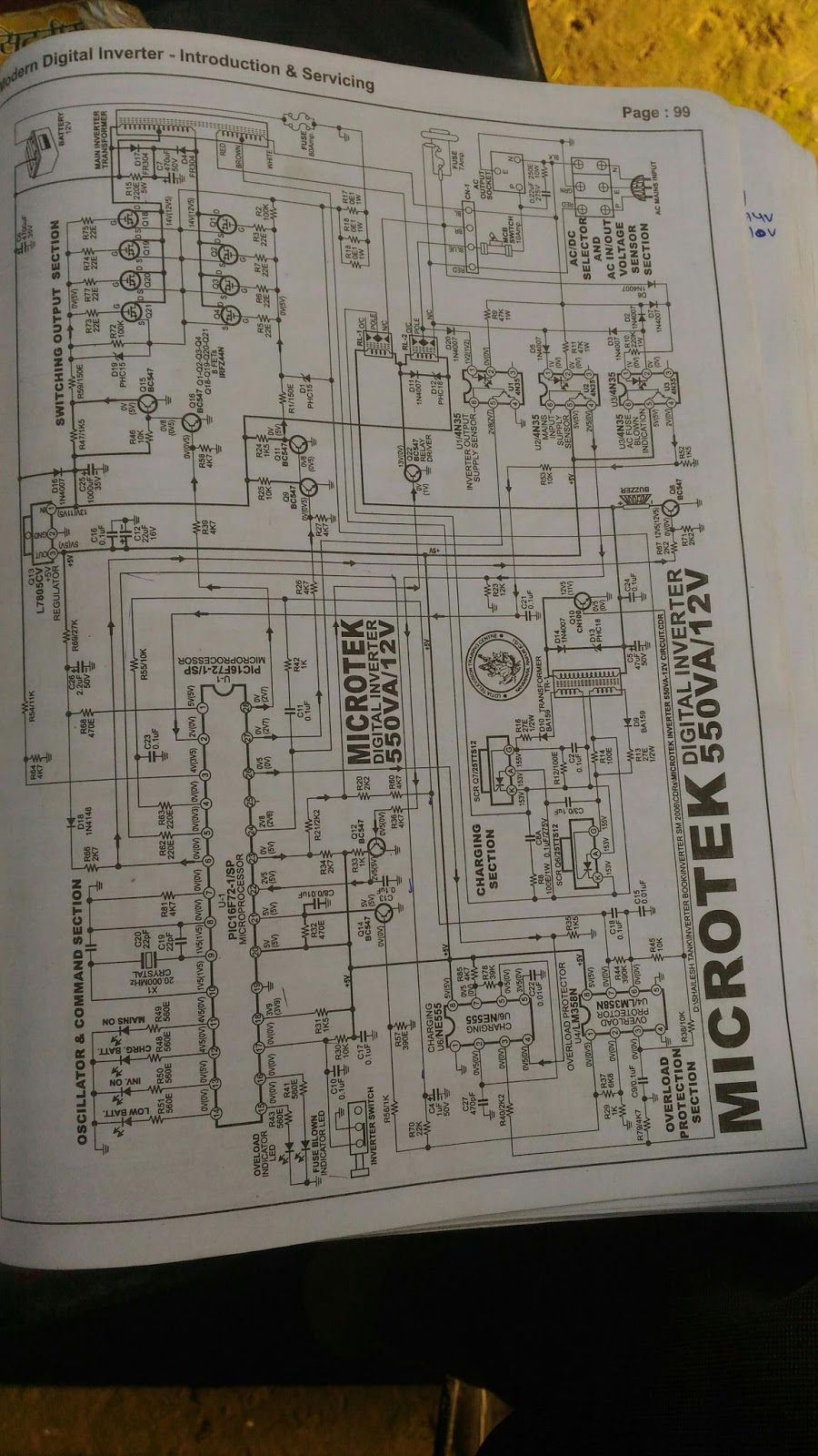 medium resolution of microtek inverter circuit diagram pdf