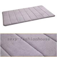 Memory Foam Non-slip Floor Mats Bath Shower Carpet ...
