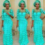 aso ebi lace dresses styles 2017