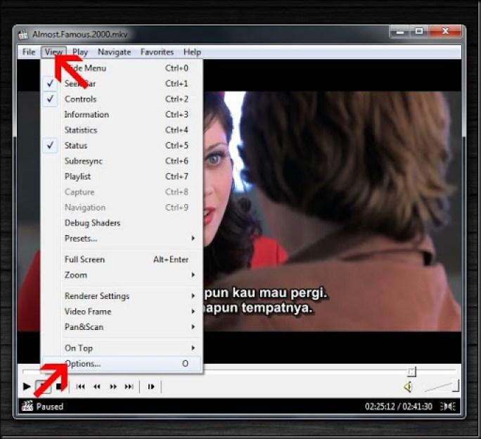 cara mengatur tampilan subtitle bahasa indonesia