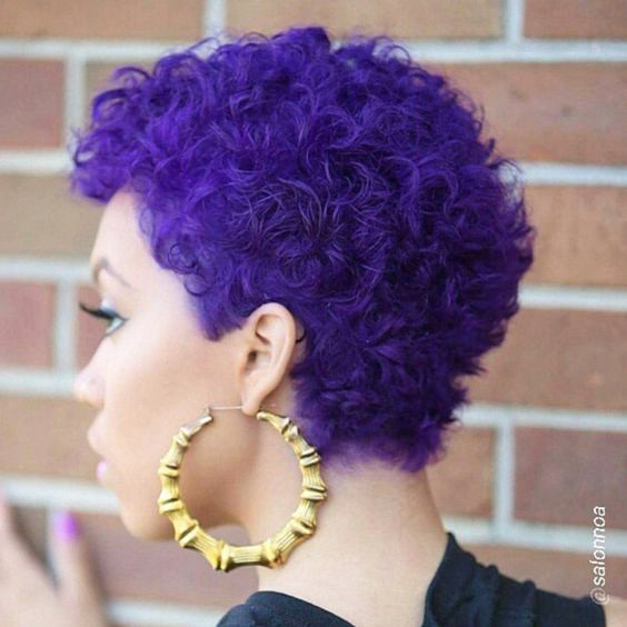 +18 Natural Hairstyle Ideas for African Short Hair 2018 - 2019 6