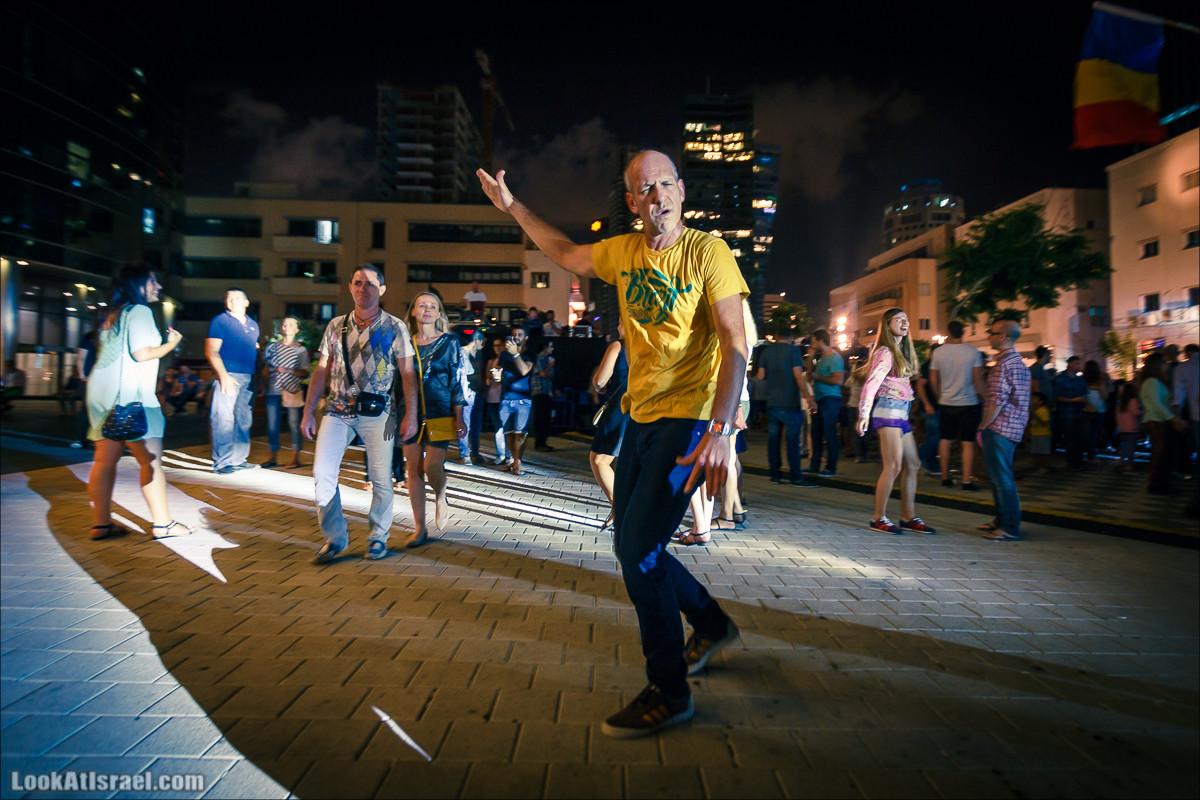 Фестиваль Белая ночь 2015 в Тель-Авиве | White Night Tel-Aviv 2015 | לילה לבן תל אביב 2015 | LookAtIsrael.com - Фото путешествия по Израилю