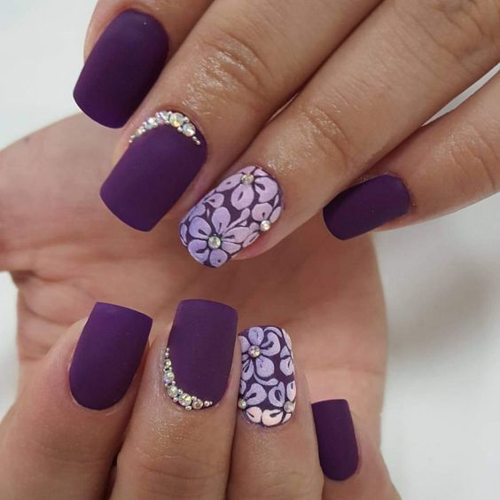 For young ladies, nail trim ought to be new also! The spring nail  expressions can be outlined by the spring subject. - Top Nail Art Designs For Spring 2018 - Fashonails