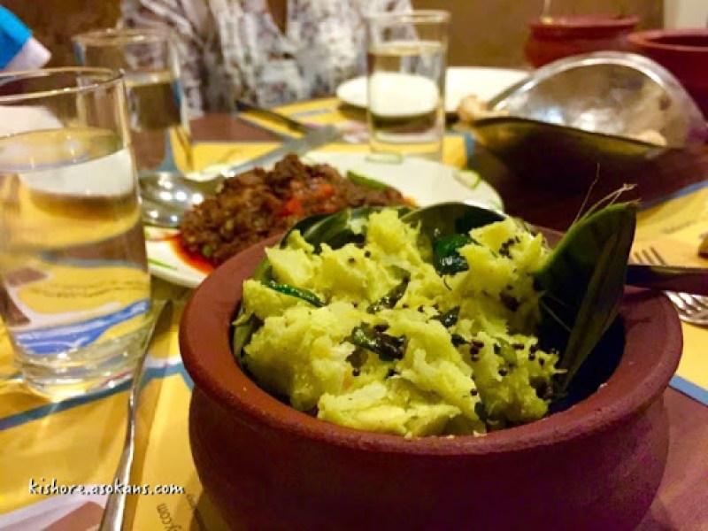 Kerala Kappa anf fish curry