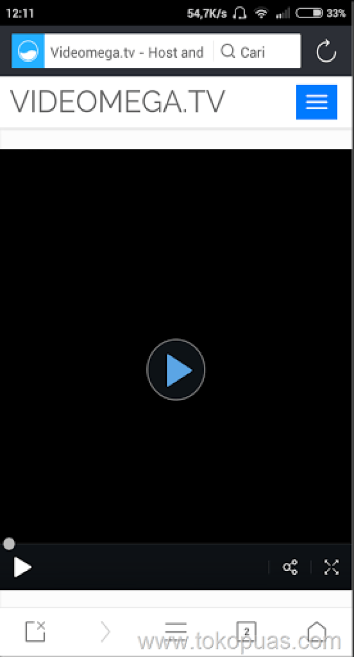 trik download video di video mega tanpa software