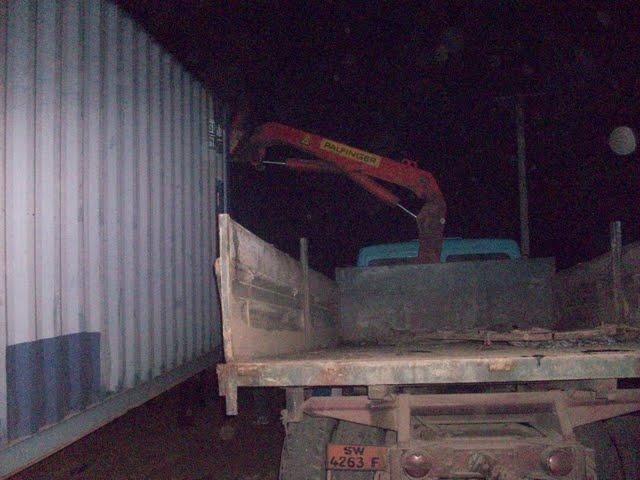 Container Arrival & Offloading in Buea - 100_9148.JPG