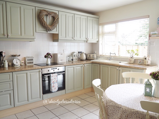 Video My Diy Country Cottage Kitchen Make Over Dainty Dress Diaries