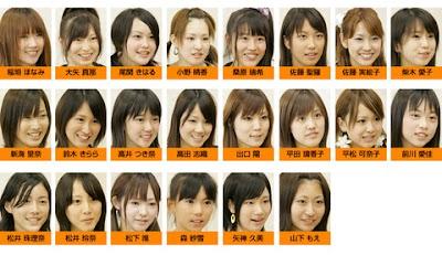 SKE48一期生の合格直後の顔面写真