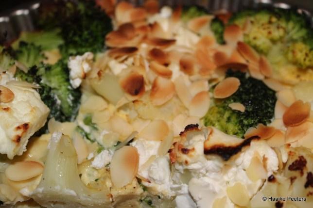 Bloemkool-broccolitaart (Le petit requin)