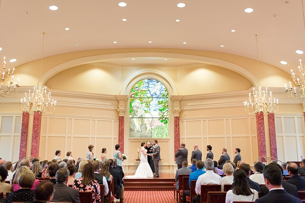 Classic Christopher Newport University Wedding Tidewater
