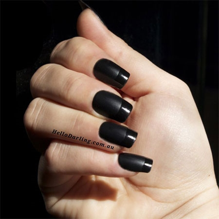 Black nail art designs trends 2017 reny styles girls adulation to adorn them back it comes to a appearance accident and occasion attach art has now aggregate the prinsesfo Images