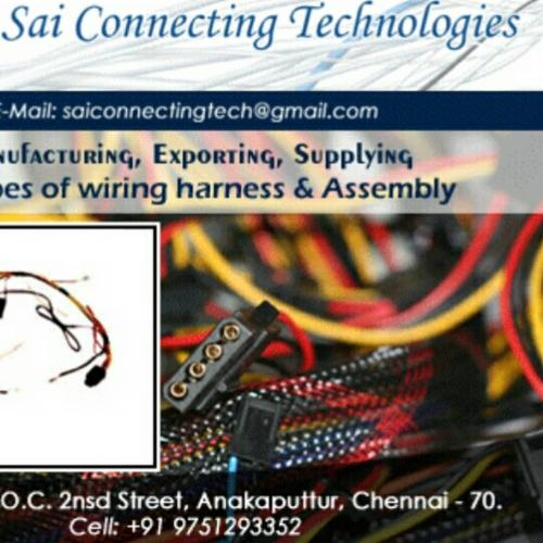 small resolution of sai connecting technologies cable harness manufacturer in chennai wiring harness manufacturers in chennai