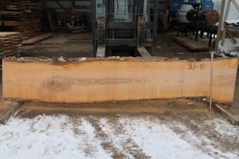"""083 - 10 Ash 2"""" x 25 - 20"""" Wide x 12' Long  Kiln dried"""