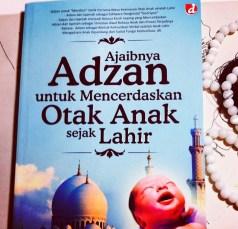 Buku Ajaibnya Adzan untuk Mencerdaskan Otak Anak Sejak Lahir