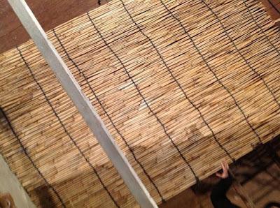 伝統的な玉露や抹茶の覆いで使われる、よしずの作り方 - 17
