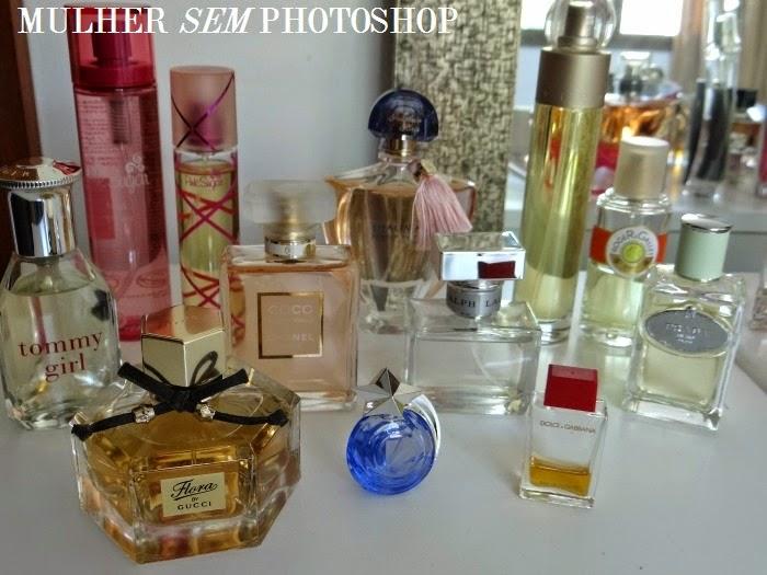 Minha coleção de perfumes