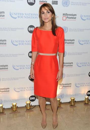 Queen Rania Height