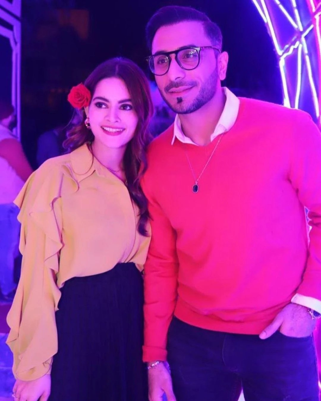 Aiman and Minal Khan Birthday Bash and fans Reactions