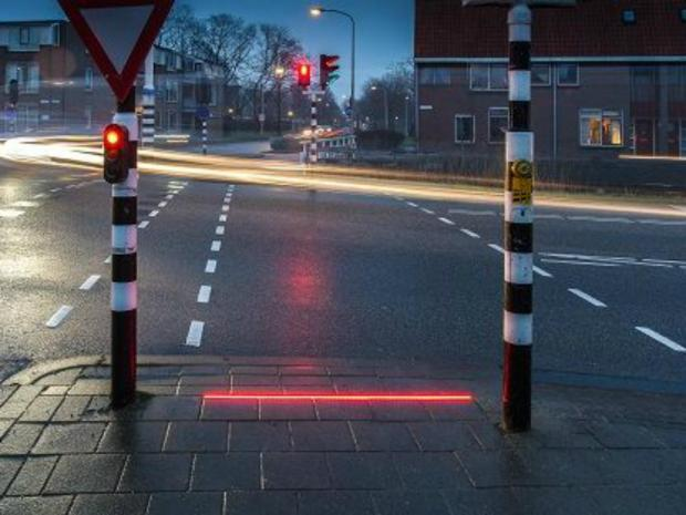 Dutch Town Plans To Add LED Lights To Sidewalks To Protect Smartphone Users 1