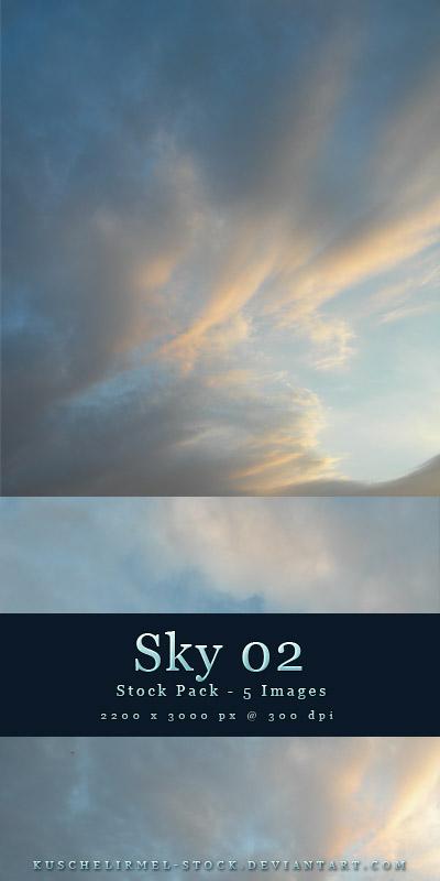 Pacote de imagens de céu