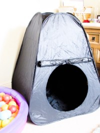 PLAYROOM: Creating a sensory tent at home | Treasure Every ...