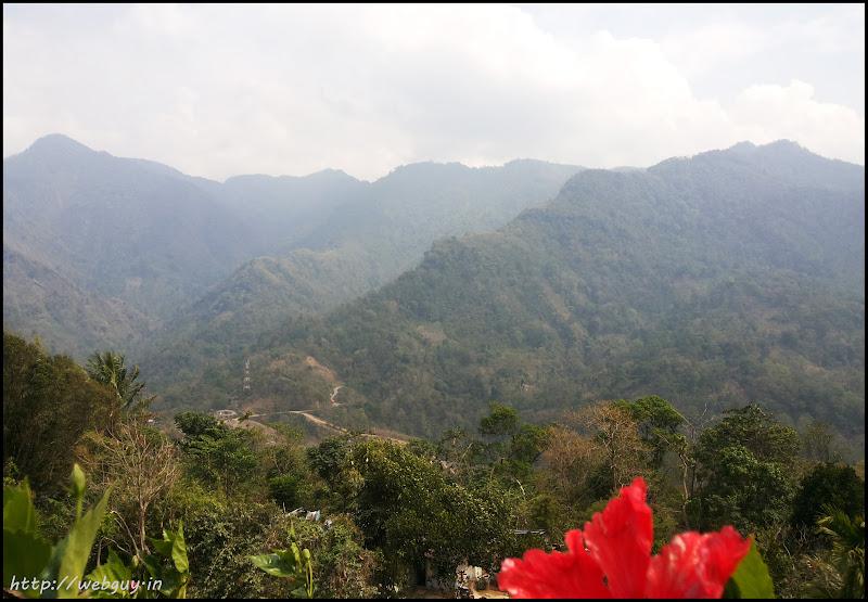 view from Jatinga village