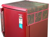 Buy Combo Pack Of Decorative Maroon Fridge Top Cover