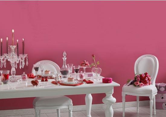Inspiración para decorar la mesa en San Valentín.