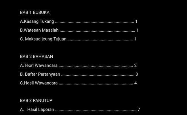Contoh Wawancara Bahasa Sunda Cute766